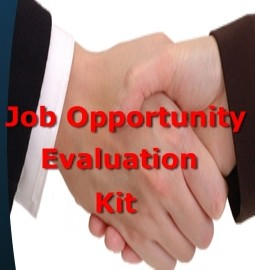 Job Opportunity Evaluation Kit