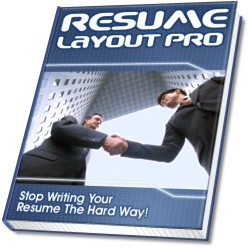 Click here to order Resume Layout Pro now...
